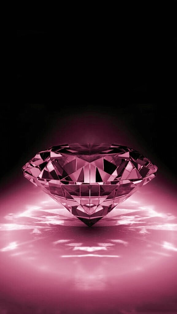Black and pink diamond Картинки Pinterest Wallpaper
