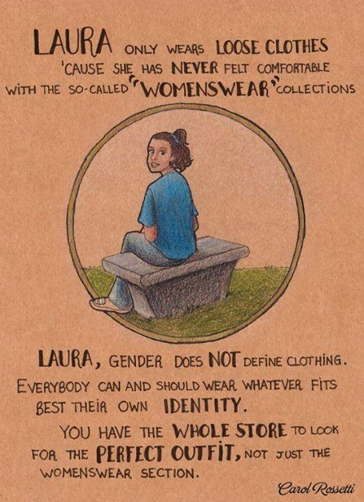 These feminist cartoons are excellent and you should look at them