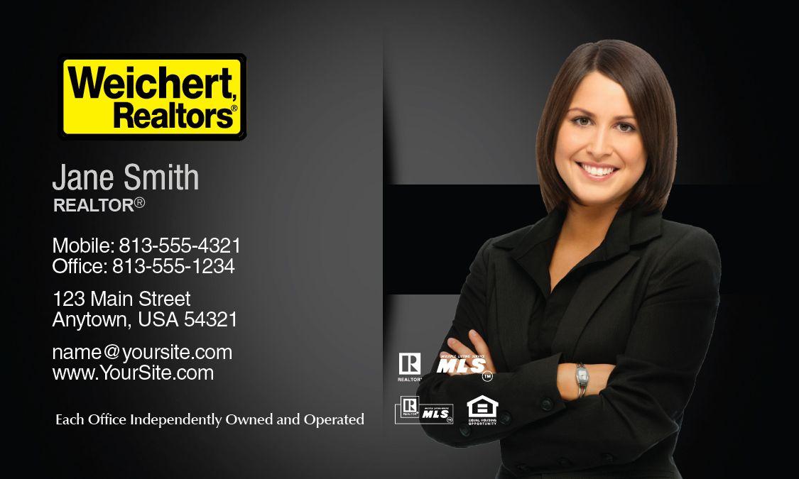 Weichert realtors business card template design idea weichert weichert realtors business card template design idea colourmoves