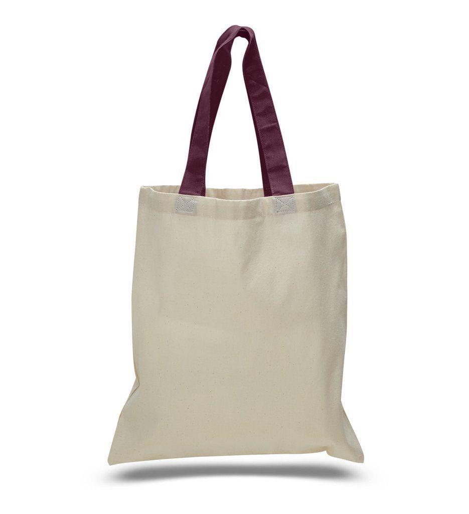 5a1e9633334 High quality promotional color handles tote bag 100% cotton | bag ...