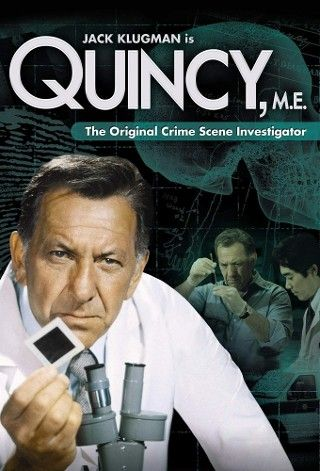 Before Law and Order, before CSI there was.....Qunicy M.E.!!!
