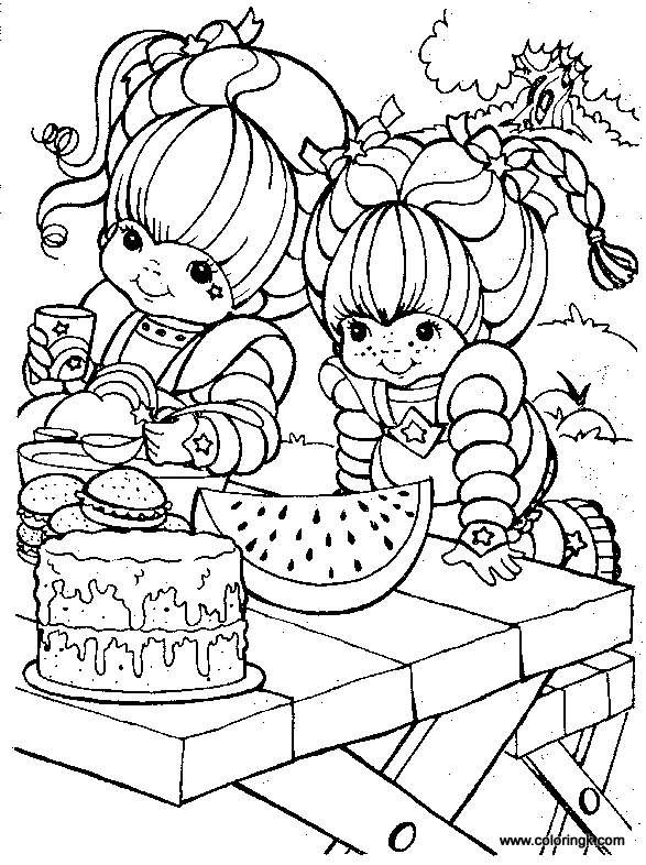 Rainbow Brite Coloring Page 70 | Coloring Book | Pinterest ...