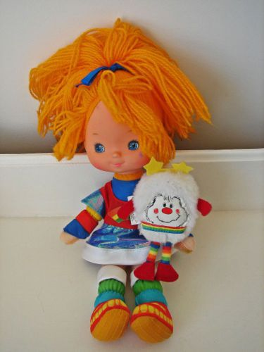 I Love The 80s Toys : Vintage rainbow brite quot doll with twink sprite