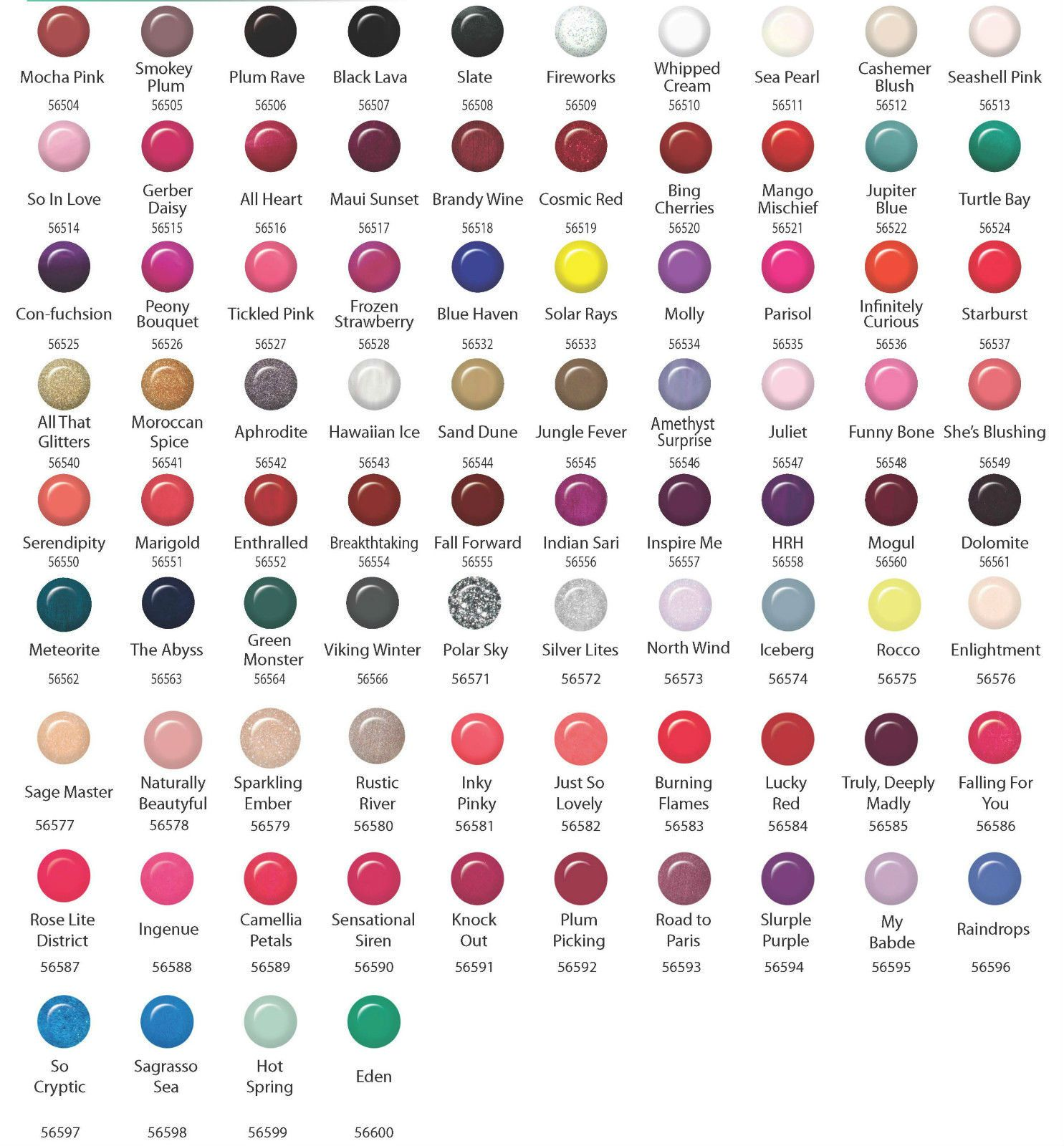 Gelish nail polish color chartibd gel nail polish choose any 12 gelish nail polish color chartibd gel nail polish choose any 12 colors from color chart base geenschuldenfo Image collections