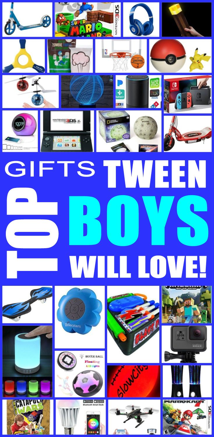 Best Birthday Gifts Tween Boys Will Love And Awesome Christmas For The