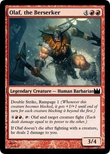 Olaf the Berserker 189/306 by draconichero18.deviantart.com on @DeviantArt