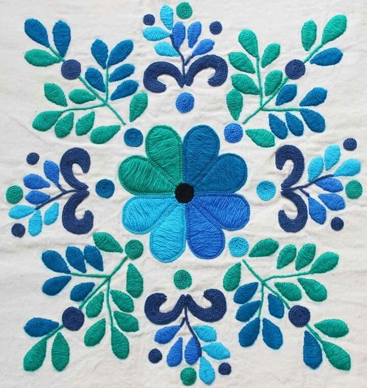 Resultado de imagen para bordado mexicano cortinas   вышивка ...