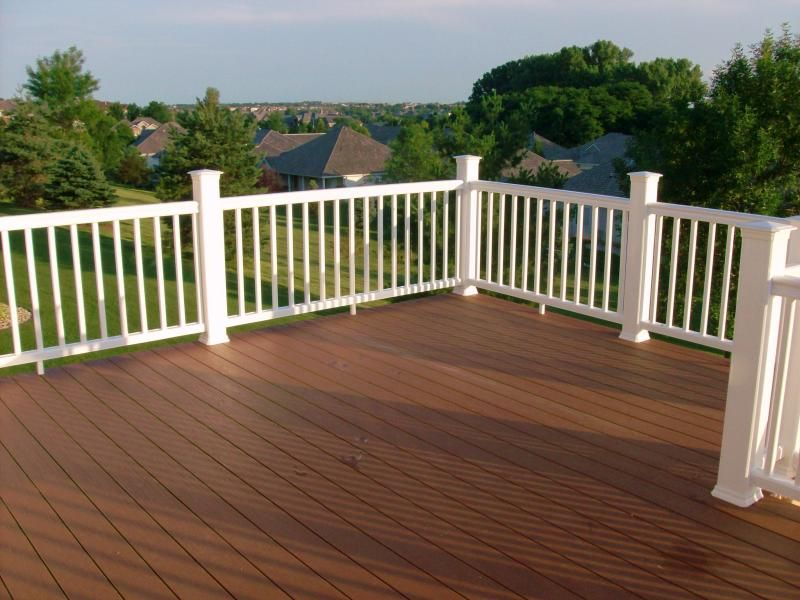 Adding Railing To Existing Deck Spokes