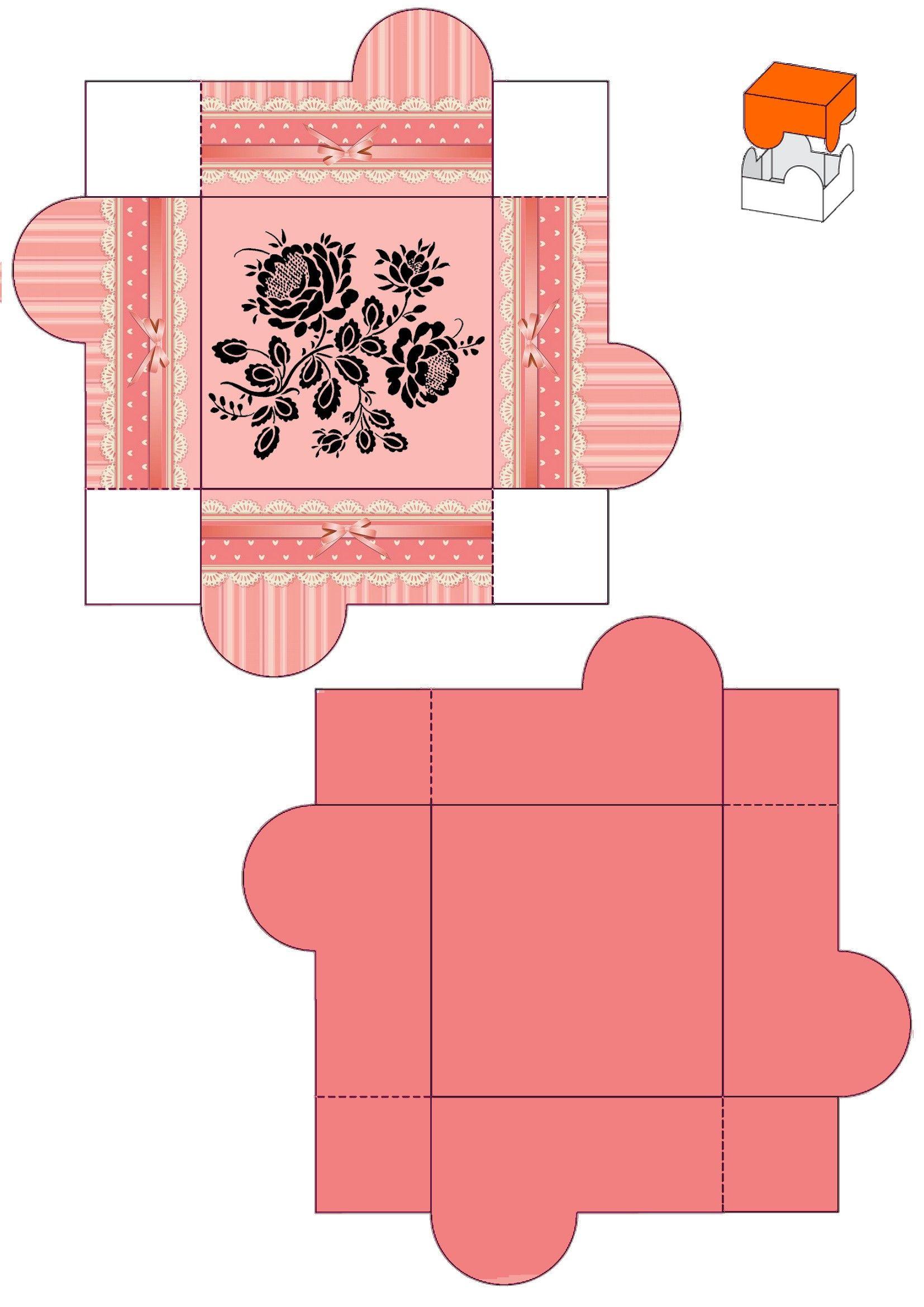 Мини коробка для открытки