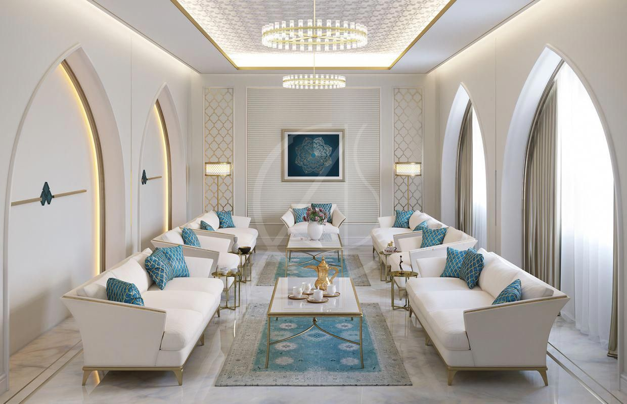 A Bright And Welcoming Majlis Interior In The Modern Islamic Home