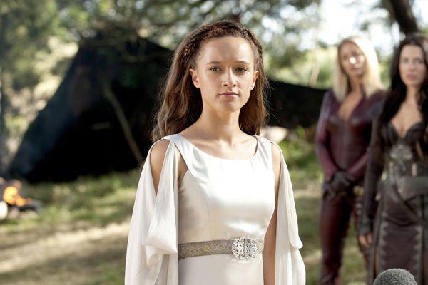 Keisha Castle-Hughes as The Creator - the goddess of all life.