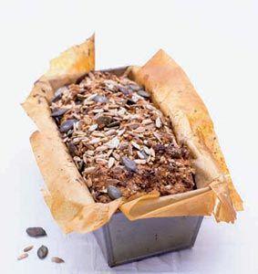 Snabbakat filmjölksbröd med nyttiga frön #recept #norrmejerier