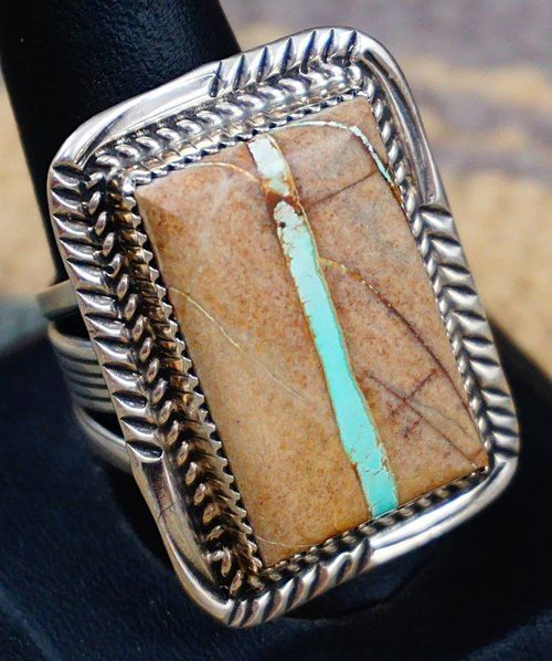 Authentic Native Men's Turquoise Rings- EAGLE ROCK TRADING ...