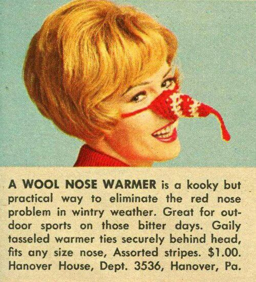 Nose warmer - Did you ever see anyone wear one of these?