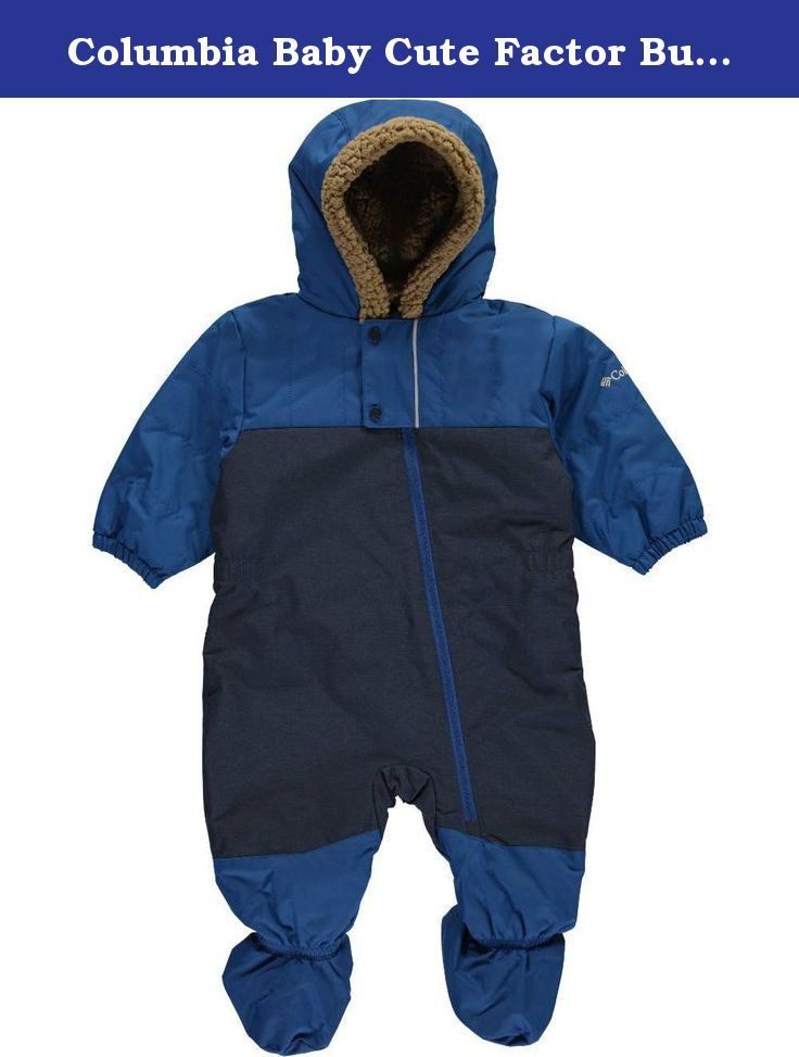 Columbia Baby Cute Factor Bunting Marine Blue 6 12 Months Copy