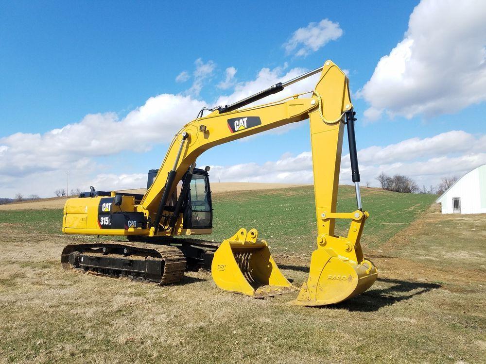 1996 Cat 315l Excavator Track Hoe Diesel Hydraulic Construction Machine Tractor Used Construction Equipment Excavator Heavy Equipment