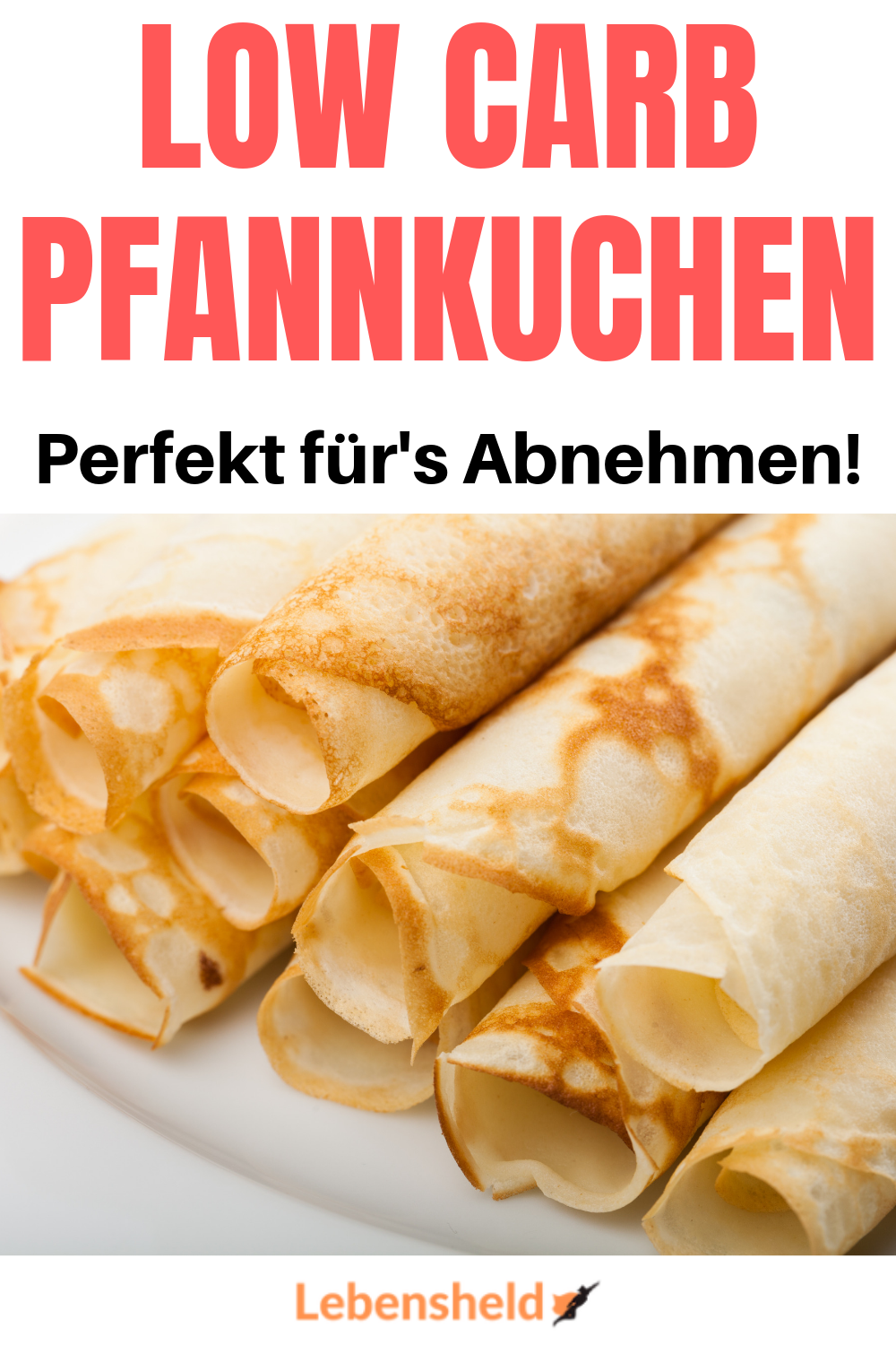 Low carb Pfannkuchen - Perfeke Alternative- Low Carb Held
