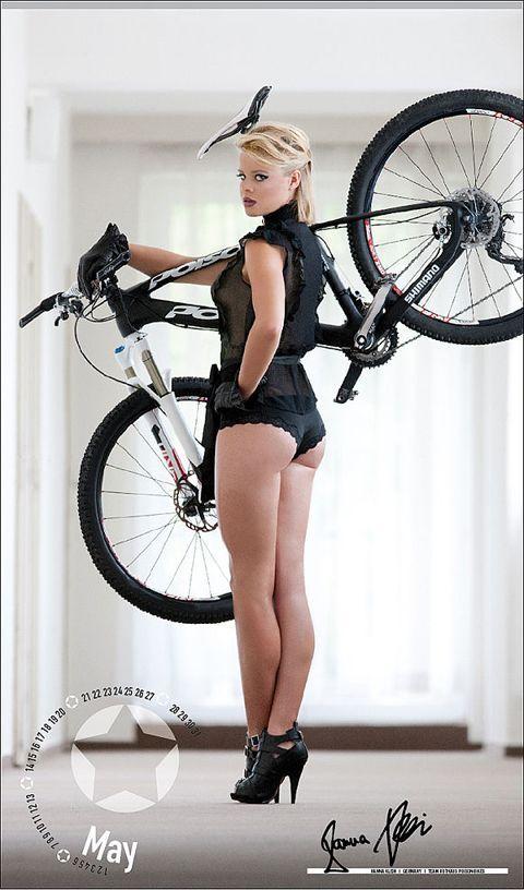 Erotic bicycle adventure