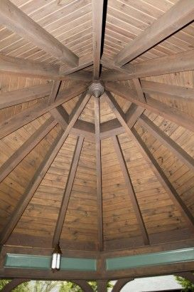 A Complex Octagon Timber Frame Roof System Roof Beam