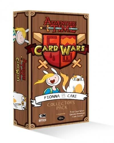 Adventure Time Card Wars Card Game Fionna vs Cake Geek - time card