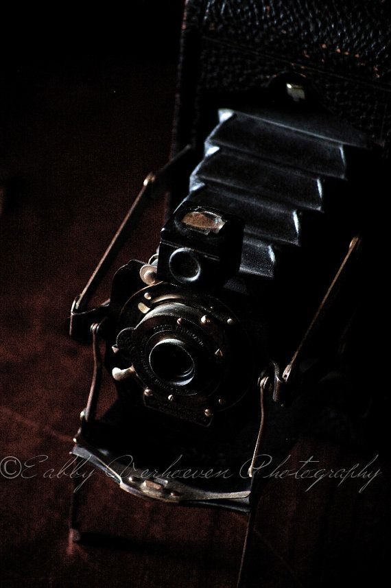 Vintage Pocket Camera  Top View Color or B by PhotographyByEabby, $35.00