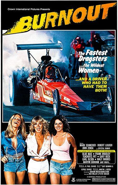 Burnout 1979 Movie Poster Movie Posters Original Movie