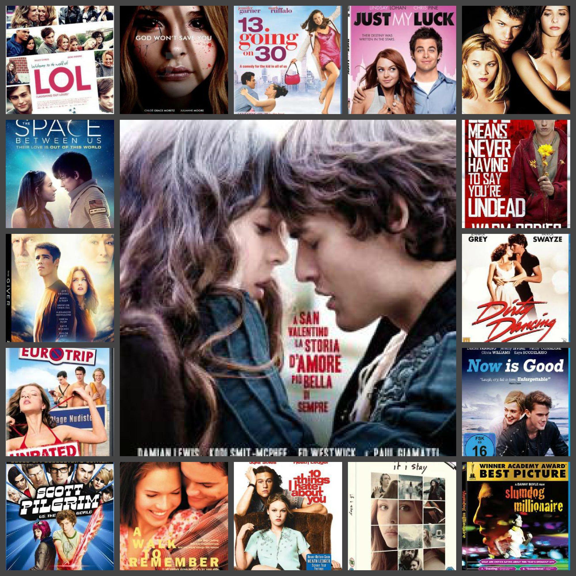 подборка фильмов про любовь подростков часть 1 подборки