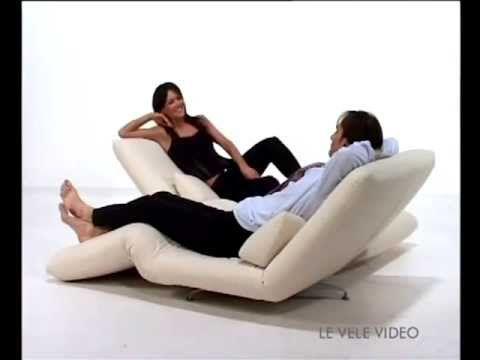 Le Vele Video Girevoli Italian Sofa Sofa Sofa Bed