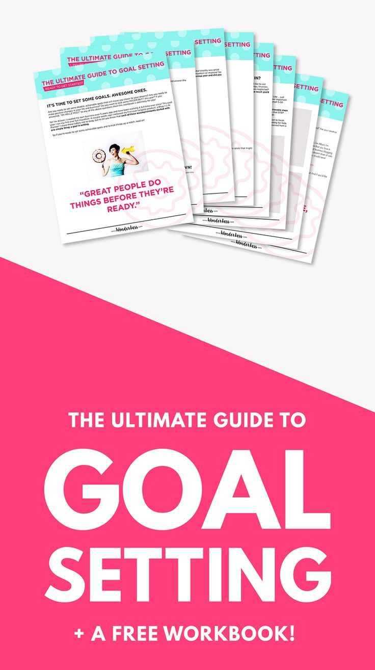 Workbooks goals workbook : The Ultimate Guide to Goal Setting | Goal, Goal settings and Happy ...