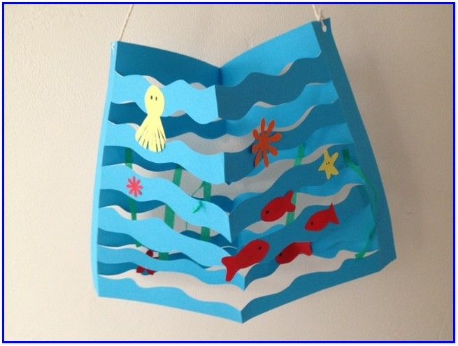 Ocean Art And Crafts For Preschoolers Preschool Themes