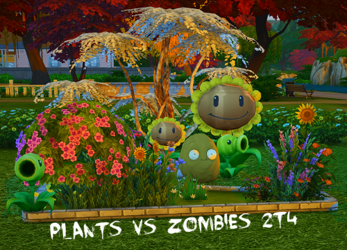Plants Vs Zombieswith A Weird Shine That I Cannot Get Rid Of No