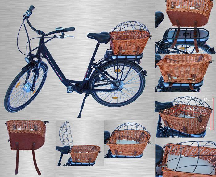 Koszyk Wiklinowy Dla Kotka Pieska Na Zakupy Rower 5109223946 Oficjalne Archiwum Allegro Bicycle Vehicles