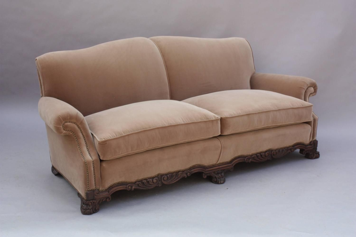 1920 Spanish Revival Upholstered Sofa | From A Unique Collection Of Antique  And Modern Sofas At