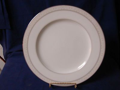 Noritake, china Montvale Platinum, #4807 Dinner Plate