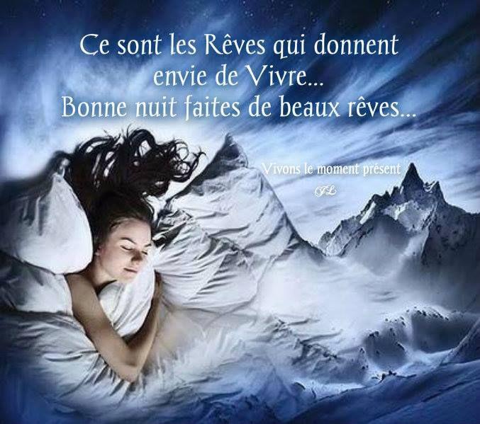 Bonne nuit faites de beaux rêves | Bonne nuit romantique, Bonne ...