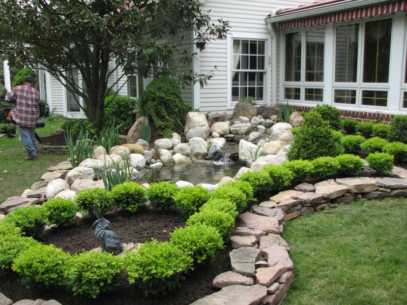 Garden Design Bucks County Pa Garden Landscaping Contractor Buckingham Landscaping Around House Boxwood Garden Backyard