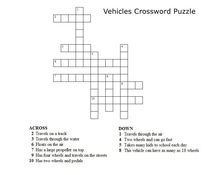 If you like Disney crossword puzzles, try this one! It features ...