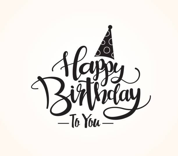 Happy Birthday Vector Art Illustration With Images Happy
