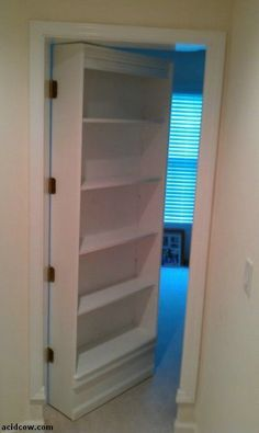 Superieur Hidden Door Bookshelf. DIY (16 Pics) | Crack Two