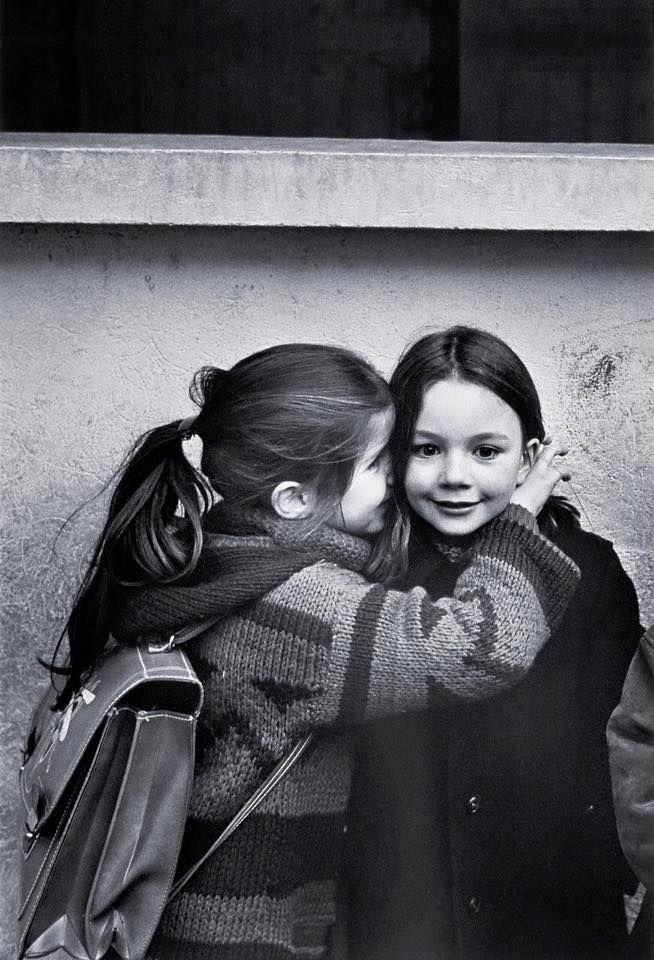 Le Secret,  photo by Jean-Philippe Charbonnier, Paris 1979.
