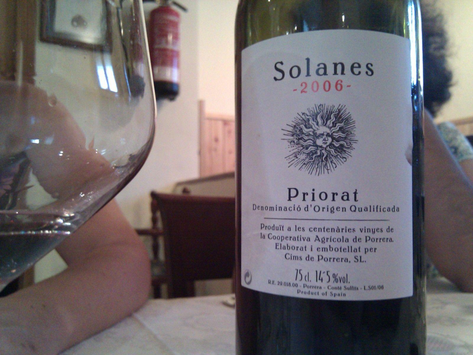 #avuitastem un Solanes 2006, Priorat
