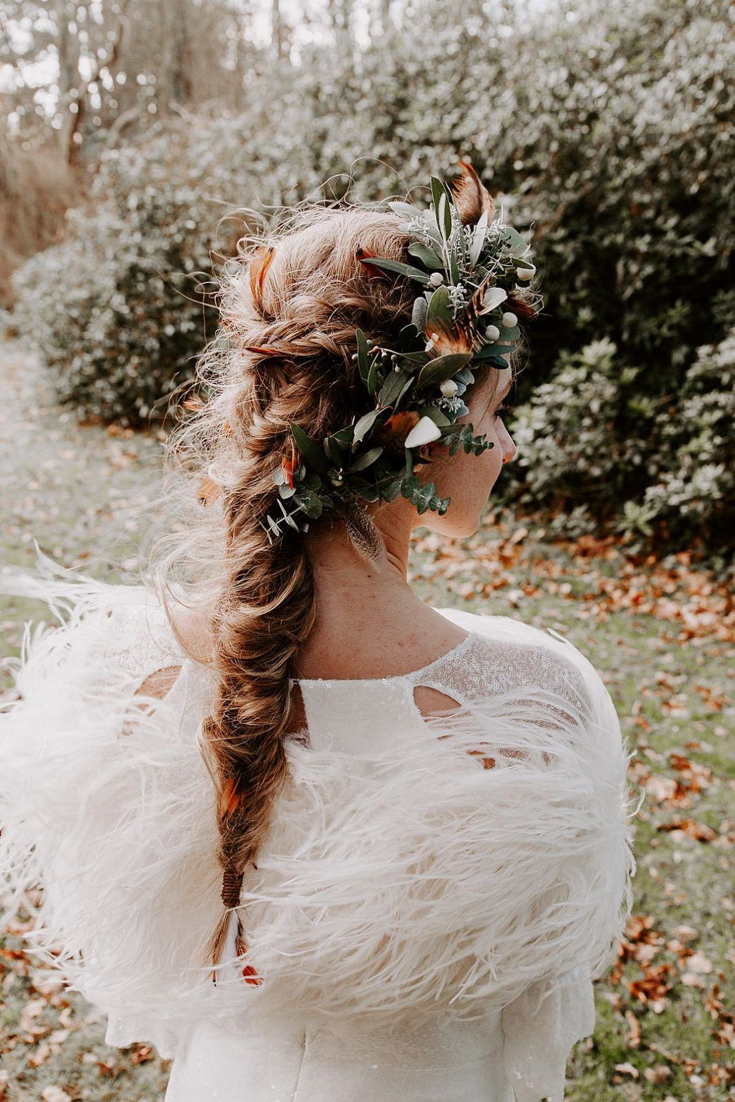 a wild flower | wedding hair | wedding shoot, wedding