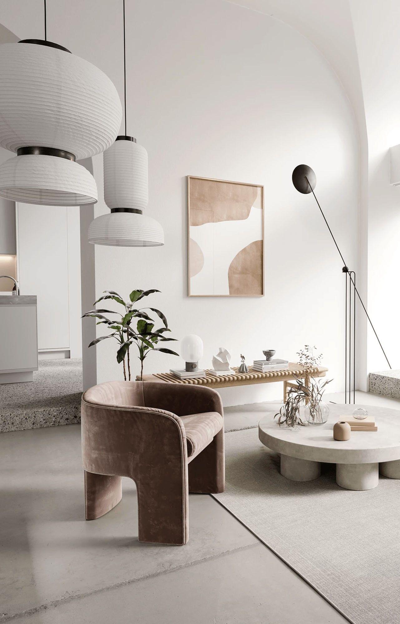 Photo of Décor do dia: sala de estar contemporânea em lots neutros
