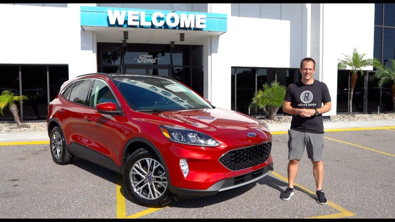 is the 2020 ford escape a crossover home run? - youtube