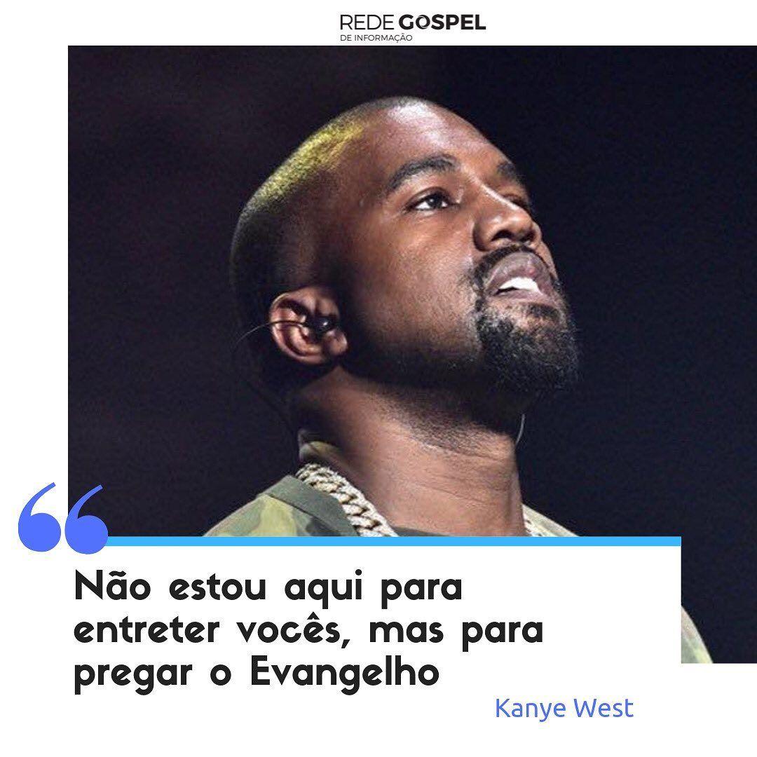 Rede Gospel De Informacao On Instagram O Rapper Kanye West Falou Sobre Sua Conversao Ao Cristianismo No Ultimo Sabado 12 Du Kanye West Movie Posters Movies