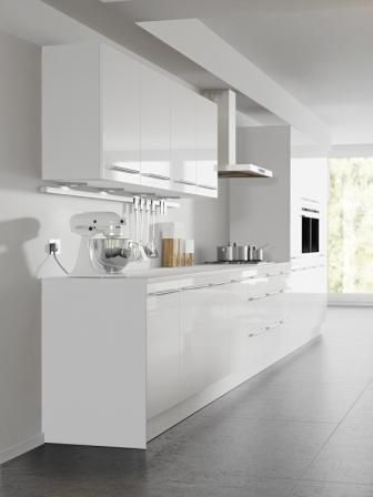 Four Seasons Kitchen Cabinets Mix And Match Options Aspen White Gloss Door With Cool White