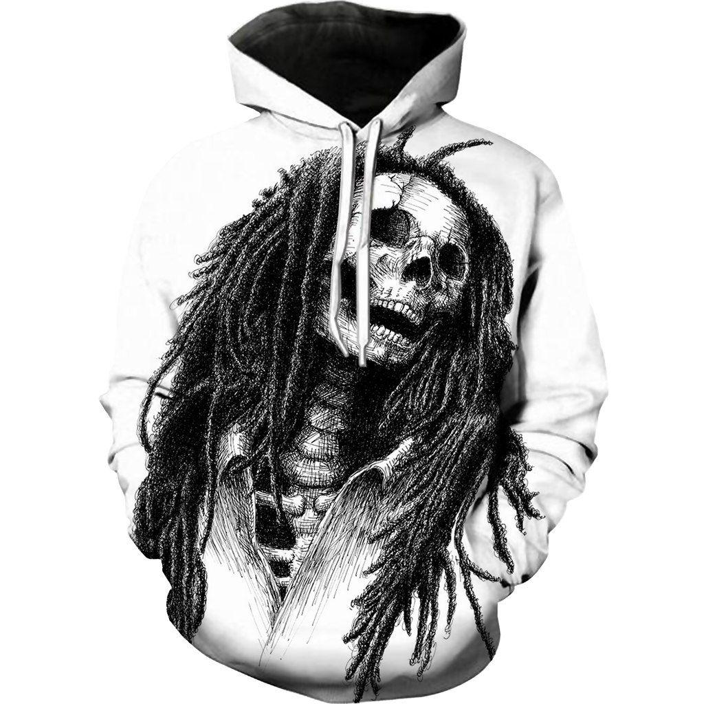 Bob Marley 3d Hoodie By Www Wesellanything Co Bob Marley Print Skeleton Hoodie Bob Marley [ 1024 x 1024 Pixel ]