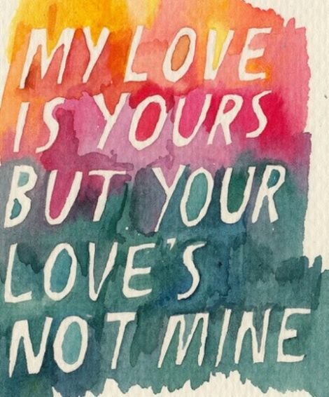 One Sided Love All U Need Is Love Love Quotes Quotes