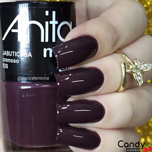 Anitaes maltes - Jabuticaba | uñas | Pinterest | Esmalte, Diseños de ...