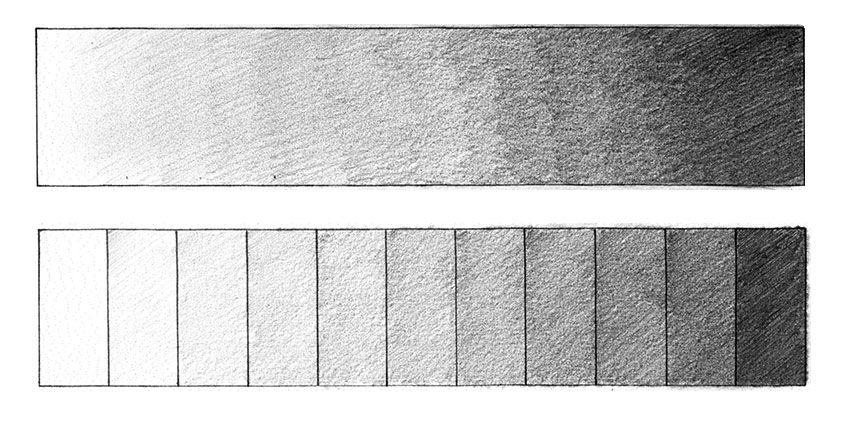 Actividad 1 Dibuja La Escala Tonal Metodo Giotto Tecnicas De Sombreado Claroscuro Dibujo Dibujos De Arte Simples